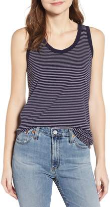 AG Jeans Cambria Stripe Fitted Tank