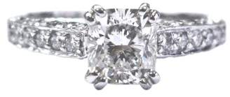 Scott Kay Palladium 1.55ct Diamond Engagement Ring Size 4.5