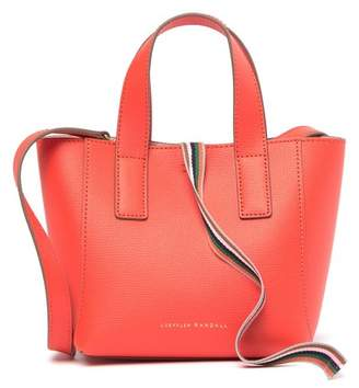 Loeffler Randall Mini Leather Ribbon Shopper Bag