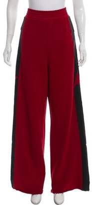 Golden Goose High-Rise Wide-Leg Lounge Pants