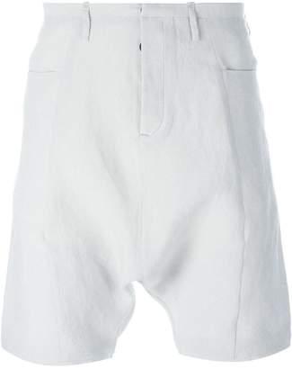 Label Under Construction drop-crotch shorts