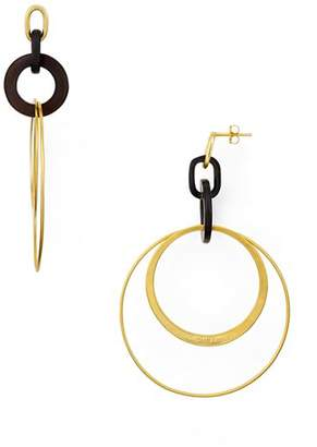 Chan Luu Multi-Loop Horn Drop Earrings