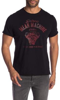 John Varvatos Mean Machine Graphic Crew Neck Tee