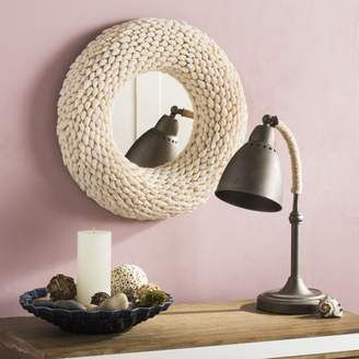 Safavieh Magnolia 20 in. Round Shell Mirror, Natural Mix Shell