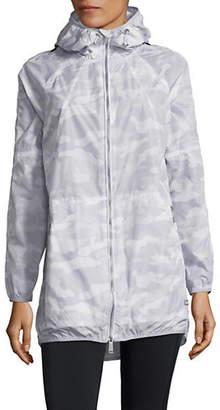 Calvin Klein Camo-Print Hooded Jacket