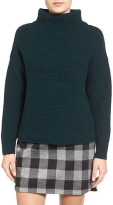 Women's Madewell Cocoon Mock Neck Sweater $98 thestylecure.com