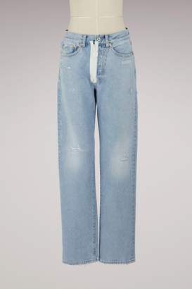 Off-White Off White Straight-cut jeans