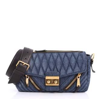 Miu Miu Blue Denim - Jeans Clutch Bag