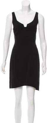 Helmut Lang Cut-Out Mini Dress