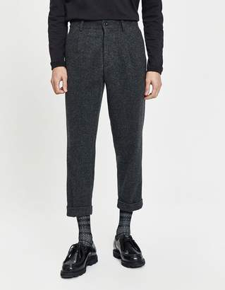 Beams 1 Pleat Combat Tweed Pant
