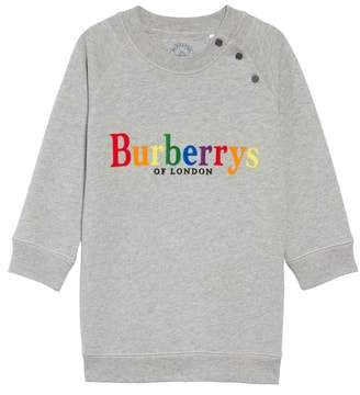 Burberry Mala Archive Logo Sweatshirt Dress
