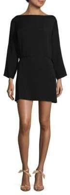 Halston Belted Sheath Dress
