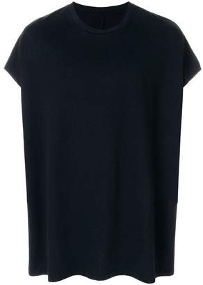 Unravel Project oversized cap sleeve T-shirt