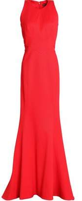 Zac Posen Fluted Cady Gown