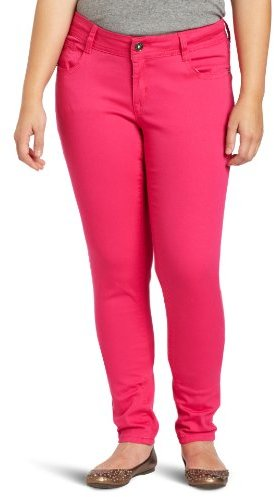 Southpole Juniors' Plus-Size Basic Stretch-Twill Color Jean