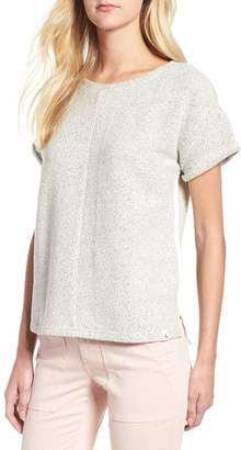 Lou & Grey Tweed Top