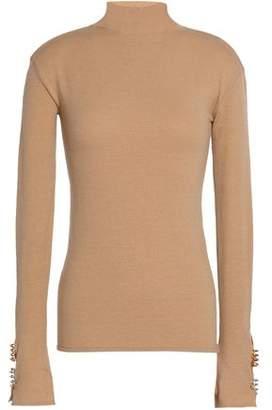 Ellery Metallic Wool-Blend Turtleneck Sweater