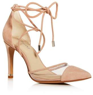 Kenneth Cole Women's Riley Ankle-Tie Cap-Toe Pumps