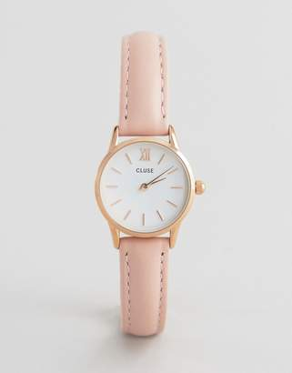 Cluse La Vedette Pink Leather Watch CL50010