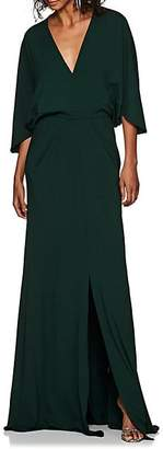 Narciso Rodriguez Women's Crepe Jersey Gown - Emerald