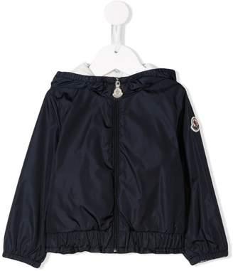Moncler hooded zip rain jacket