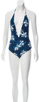 Mikoh Hawaii Hula One-Piece Swimsuit