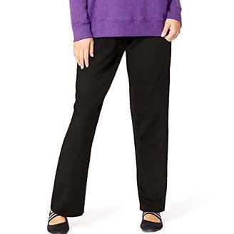 Just My Size Women's Fleece Open-Hem Sweatpants