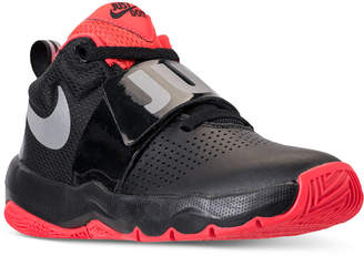 367997796bb1 Nike Boys  Team Hustle D8 Just Do It Basketball Sneakers from Finish Line