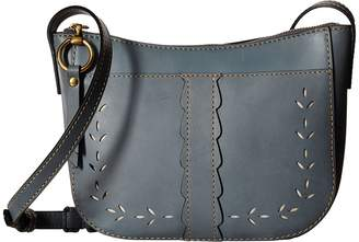 Frye Ilana Perf Zip Crossbody Cross Body Handbags