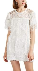 IRO Women's Pike Cotton-Blend Lace Shift Dress