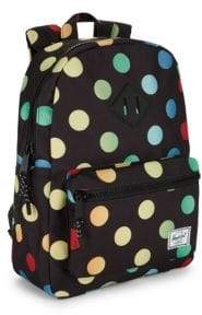 Herschel Kid's Heritage Youth Polkadot Backpack