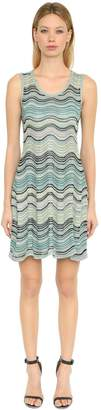 M Missoni Cotton Open Knit Sleeveless Dress