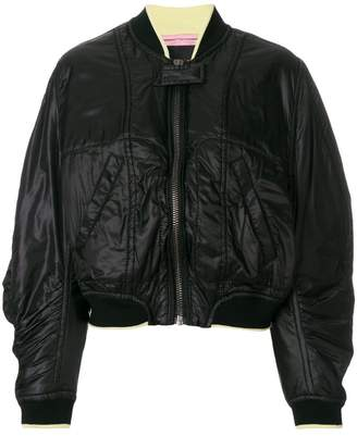 Haider Ackermann oversized bomber jacket