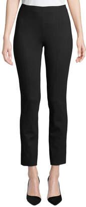 Misook Ponte Slim-Leg Pants, Petite