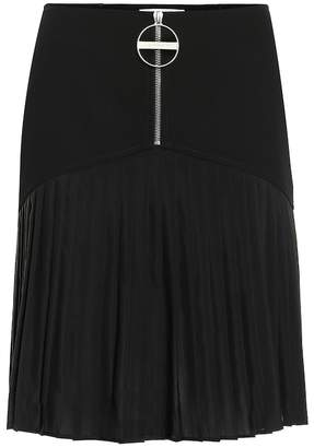315a26ce32 Givenchy Pleated wool skirt
