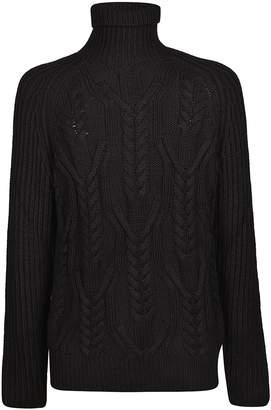 Neil Barrett Cable Knit Pullover