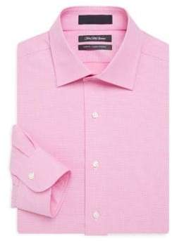 Saks Fifth Avenue Slim-Fit Textured Cotton Dress Shirt
