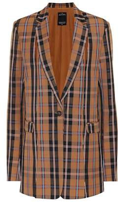 Rokh Plaid blazer