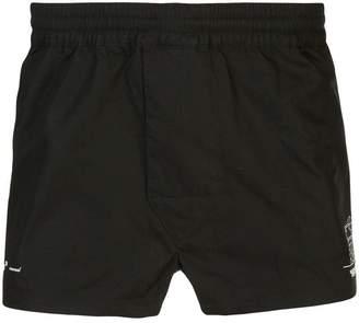 Off-White x Hirshleifers pajama shorts