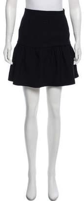 Miu Miu Flared Mini Skirt