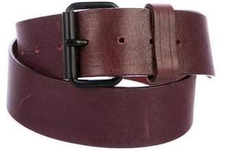 Marc Jacobs Leather Buckle Belt
