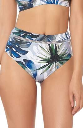 Red Carter Marilyn High Waist Bikini Bottoms