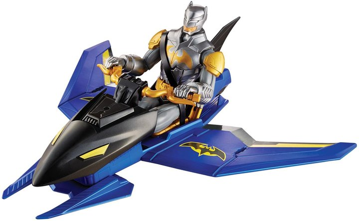 DC Comics Batman Unlimited Flight Mission Batman Figure