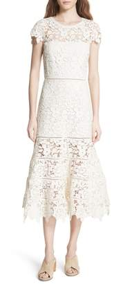 Joie Celedonia Scallop Lace Dress