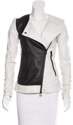 Thomas Wylde Leather Moto Jacket