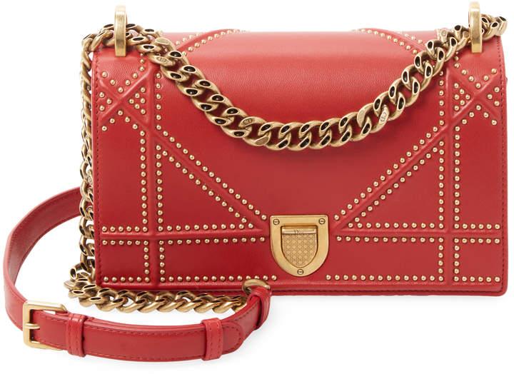 Dior Women's Studded Crossbody Bag