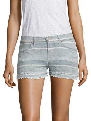 Midori Double Striped Layer Shorts