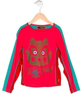 Oilily Girls' Printed Long Sleeve Top