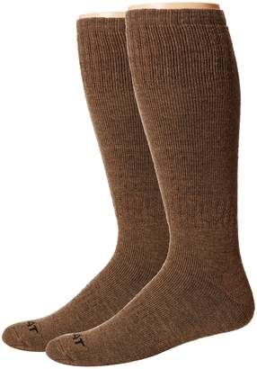 Ariat Merino Hunting 2-Pack Socks Men's Crew Cut Socks Shoes