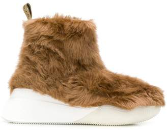 Stella McCartney ankle faux-fur boots